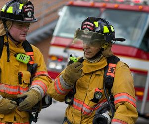 The P25 radio is the new standard for public safety. (Image: Motorola Solutions)