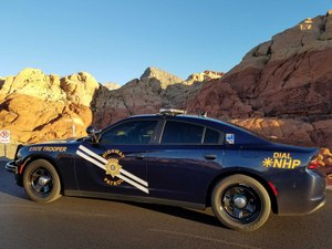 Nevada Highway Patrol covers some of the most remote stretches of highways in the U.S. (photo/Nevada Highway Patrol)