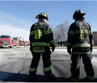 20-hour warehouse fire contained