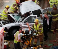 """Oklahoma City EMS responds to water rescues """"all over"""" the metro area"""