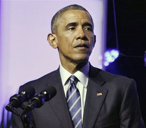President Barack Obama calls for Criminal Justice Reform at the NAACP's annual Convention at the Philadelphia Convention Center on July 14, 2015 in Philadelphia, Pennsylvania. (AP Image)