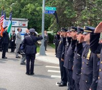 NYPD chief who died of 9/11-related cancer remembered at street renaming