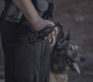 A Pulsar thermal imaging device is a smart addition to the patrol officer's toolbelt (photo/Pulsar)