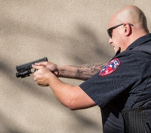 "The bill would ""encourage prosecutors to consider whether officers could have de-escalated a situation with verbal warnings or used nonlethal force"" before resorting to gunfire. (Photo/PoliceOne)"