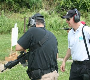 Instructor classes include tips and tricks to help you teach and coach shooters on the range. (Photo/Todd Fletcher)