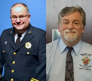 Left to right: Alan Butsch, MA, NRP; and Roger Stone, MD, MS, FACEP, FAAEM, FAEMS. (Photos courtesy of https://www.montgomerycountymd.gov)