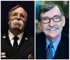 Deputy Fire Chief Billy Goldfeder and risk management guru Gordon Graham offered leadership strategies for fire chiefs to effectively mitigate the risks of lawsuits, injuries, deaths, embarrassments, internal investigations and even criminal filings. (Courtesy photos)