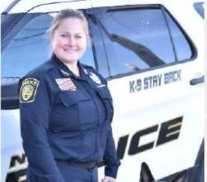 Pictured is Officer Brandy Pierce. (Photo/Safariland)