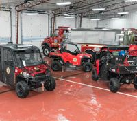 Polaris presents Fire and Rescue RANGER, PRO XD, GEM and Taylor-Dunn Vehicles at FDIC