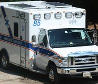 Ambulance solar panels save money and reduce environmental impact