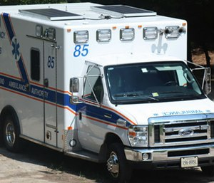 Solar-power equipped RAA ambulance
