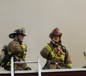 Critical information and important updates know no rank during an emergency. (Photo/Bob Graham)