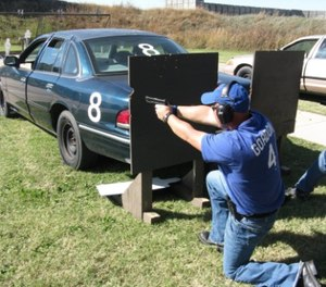 It is incumbent on firearms trainers to develop realistic, challenging and productive range drills for their agency. (Photo/Tyson Kilbey)