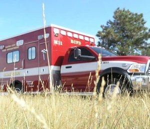 Rapid City's Legal and Finance Committee is considering a resolution to write off 2,676 unpaid ambulance bills that date back as far as 2006. (Photo/RCFD)