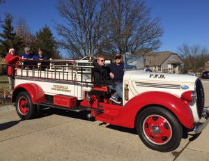 Restored 1938 Ford/Seagrave. (Photo/Robert Rielage)