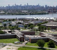 NYC jail admissions down almost 50% since 2014