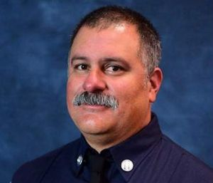Fire Captain Dave Rosa, who had worked for the department for 17 years, leaves behind his wife and two children. (Photo/AP)