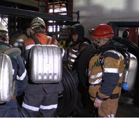 Fire, explosion kills 5 rescuers, 31 miners in Russia