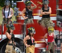 'Southern Female Firefighters' release calendar to benefit teen with cancer
