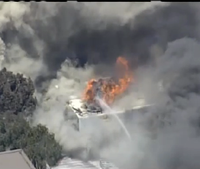 Video: 5-alarm fire rages in S.F. Mission District