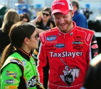 NASCAR driver Dale Earnhardt Jr., family rescued from fiery plane crash