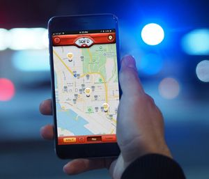 When an incident requiring CPR and an AED is reported, nearby citizens and off-duty responders who carry the app receive a notification of the emergency simultaneously with first responders. (Photo/PulsePoint)