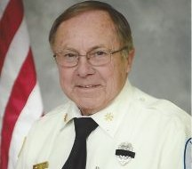 Firefighter Norman EdwardKlenow served with the East Tawas Fire Department for more than 51 years. (Photo/Buresh Funeral Homes and Cremation Services)