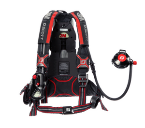 The Air-Pak X3 Pro combines high-performance material selection with an easy-to-remove harness for cleaning, decontamination and serviceability. (Photo/3M Scott Fire & Safety)