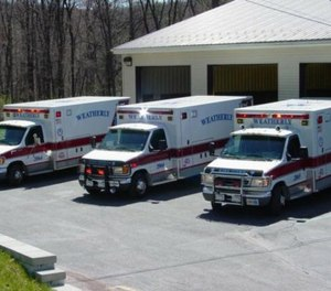 In August 2018, borough council members learned the Weatherly Ambulance Association — which also serves Lehigh, Lausanne and Packer townships — was in financial trouble. (Photo/Weatherly Ambulance Association Facebook)