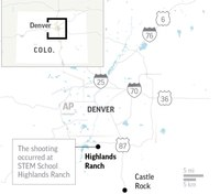 7 injured in shooting at Colo. public school, 2 suspects in custody