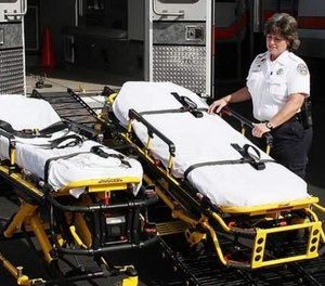 EMS providers are increasingly challenged to provide care for bariatric patients, and a comprehensive approach is necessary to avoid harming patients or the providers. (Photo/in.gov)