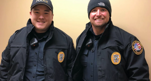 Mt. Juliet PD received 75 custom winter coats embossed with the department's patch. (Photo/MJPD)