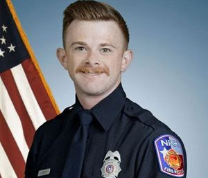 Firefighter Caleb Scott. (Photo/North Richland Hills Fire Department)