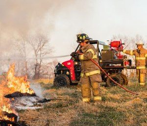 The company is also providing a combination fire and rescue package. (Photo/Polaris Government and Defense)