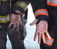 Using gloves to doff firefighter gear: Overkill or a necessary SOP?