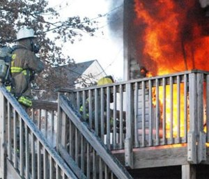 Structure tactic training is a skill every firefighter should have in their arsenal – no matter their rank. (Photo/Stafford County Fire and Rescue)
