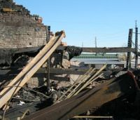 Parapet wall collapse: An old danger for new firefighters