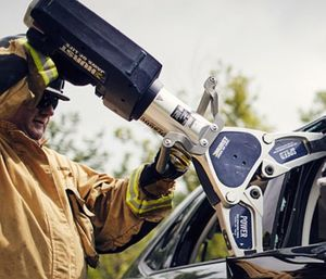 To see a demonstration, visit booth 2322. (Photo/HURST Jaws of Life)