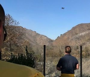 A UAS training plan begins with determining pre-scripted mission sets. (Photo/LAFD)