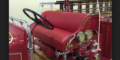 How to buy fire truck seats