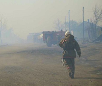 Siberian fires sweep through villages, kill 15