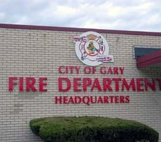 The organization cleared branches, trimmed trees, hauled away dead trees, cut the grass and repaired park fixtures. (Photo/City of Gary Fire Department)