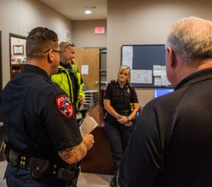 Engaging in dialogue with subordinates that provides constructive feedback when exploring a problem helps develop critical thinking skills that can transfer to decision-making in chaotic field environments. (Photo/PoliceOne)