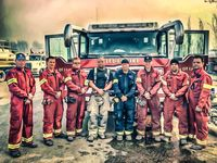 EMS Artwork: Fire/EMS support for Fort McMurray evacuees