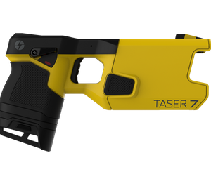 The TASER 7 has been redesigned from the ground up with new features that dramatically improve its effectiveness. (Photo/Axon)