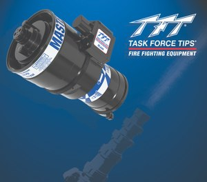 Task Force Tips unveiled two new Master Stream nozzles at FDIC 2019. (Photo/Task Force Tips)