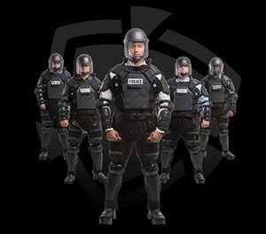 The TacCommander riot suit is adjustable from foot to neck without compromising protection or maneuverability. Instead of having to purchase a custom-sized riot suit when a new officer joins the force, you can now equip any officer with the same suit. (image/Sirchie)
