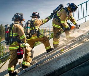All fire departments need to spend a considerable amount of time developing a structured annual training plan.  (Photo/San Ramon Valley Fire)