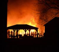 Cause of blaze that injured 9 Conn. officers still unclear