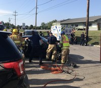Pa. ambulance involved in 3-vehicle crash